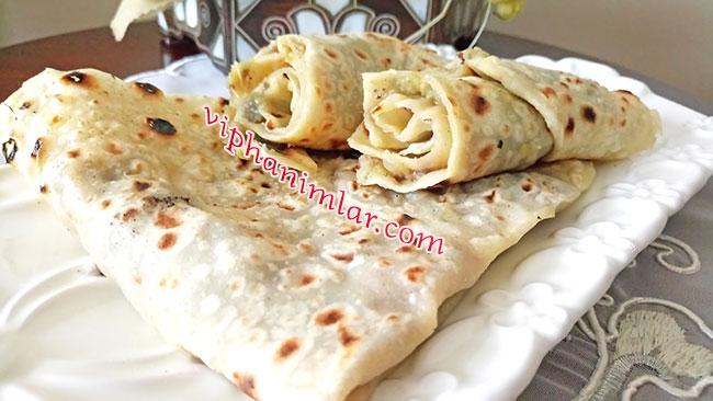 Patlıcanlı Sac Böreği Tarifi - www.viphanimlar.com