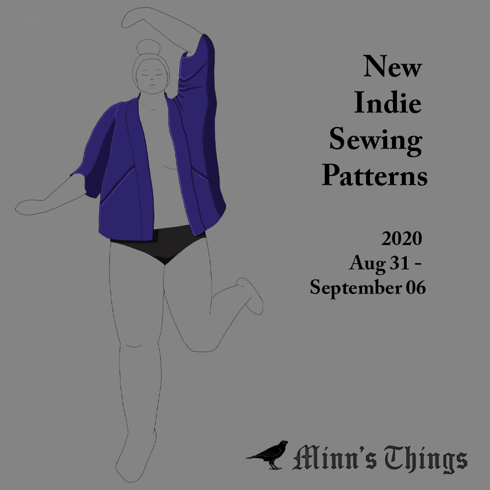 New Indie Designers' Sewing Patterns - August 31 to September 6 2020