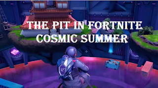 The Pit in Fortnite Cosmic Summer: island code and how to complete all the challenges very quickly