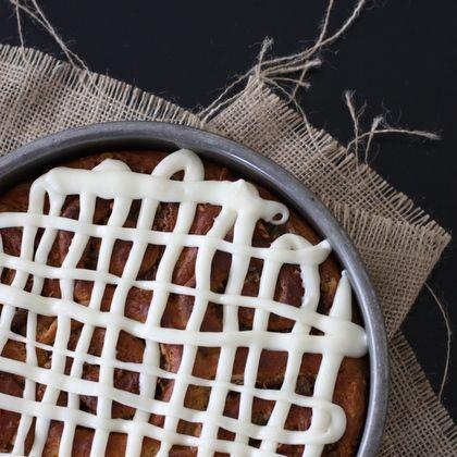 Carrot Cake Cinnamon Rolls