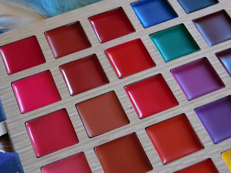 De'Lanci | Multishade Lip Palette - Multicolor Matte Lipstick Palette Review & Swatches - Avis
