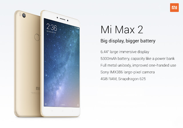 Xiaomi Mi Max 2 ; Buy Xiaomi Mi Max 2  for Rs,999; Flipkart