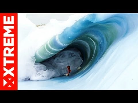 Surfer Toys Attack Teahupoo