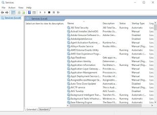 20+ Services Windows Yang Aman Untuk di Disable/Matikan