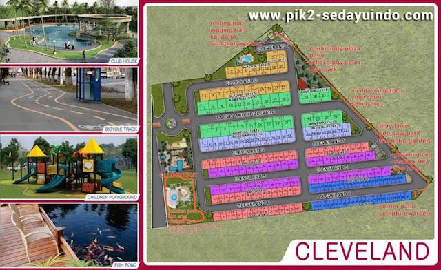 Siteplan Cluster Cleveland @ PIK2 Jakarta