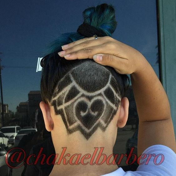 Hidden Hair Tattoos The HairCut Web