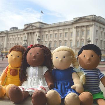 One Dear World multicultural dolls for inclusive play