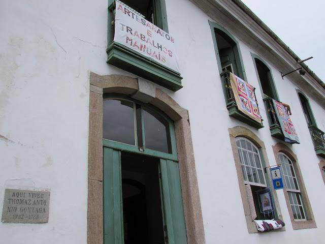 Casa do poeta Thomaz Antonio Gonzaga, Ouro Preto