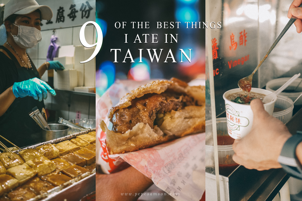 9 of the Best Things I Ate in Taiwan