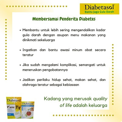 membersamai penderita diabetes