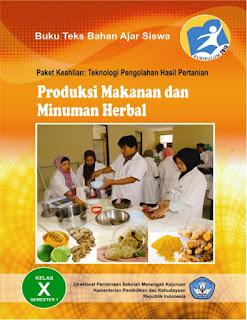 Ebook Mapel Produksi Makanan dan Minuman Herbal Bagian 1 Kelas X