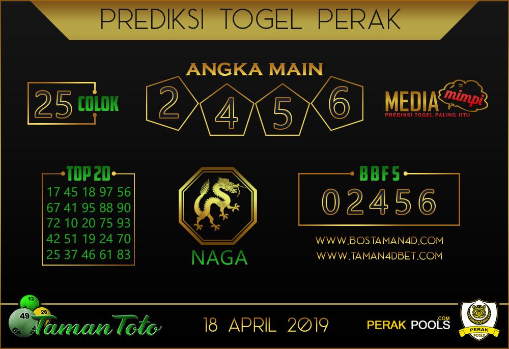 Prediksi Togel PERAK TAMAN TOTO 18 APRIL 2019
