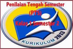 Download Soal PTS/UTS Kelas 1 Semester 2 K13 Revisi TP 2019/2020