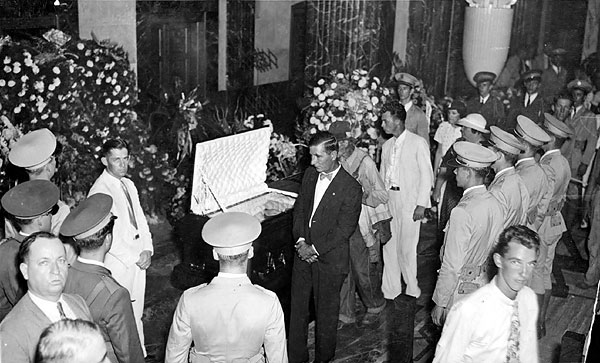 Huey Long funeral