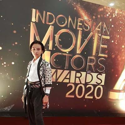 Sinyo Riza di Indonesia Movie Actors Awards