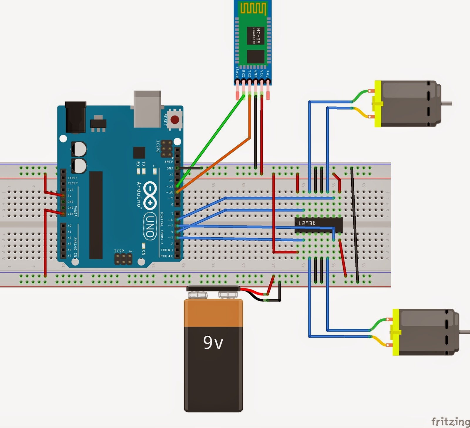 Ir Remote Control Switch Circuit Diagram Wiring Diagrams Arduino And Android Voice Robot How To Make A Light