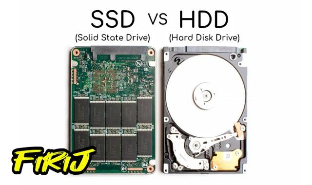 Quelle différence entre disque dur HDD et SSD
