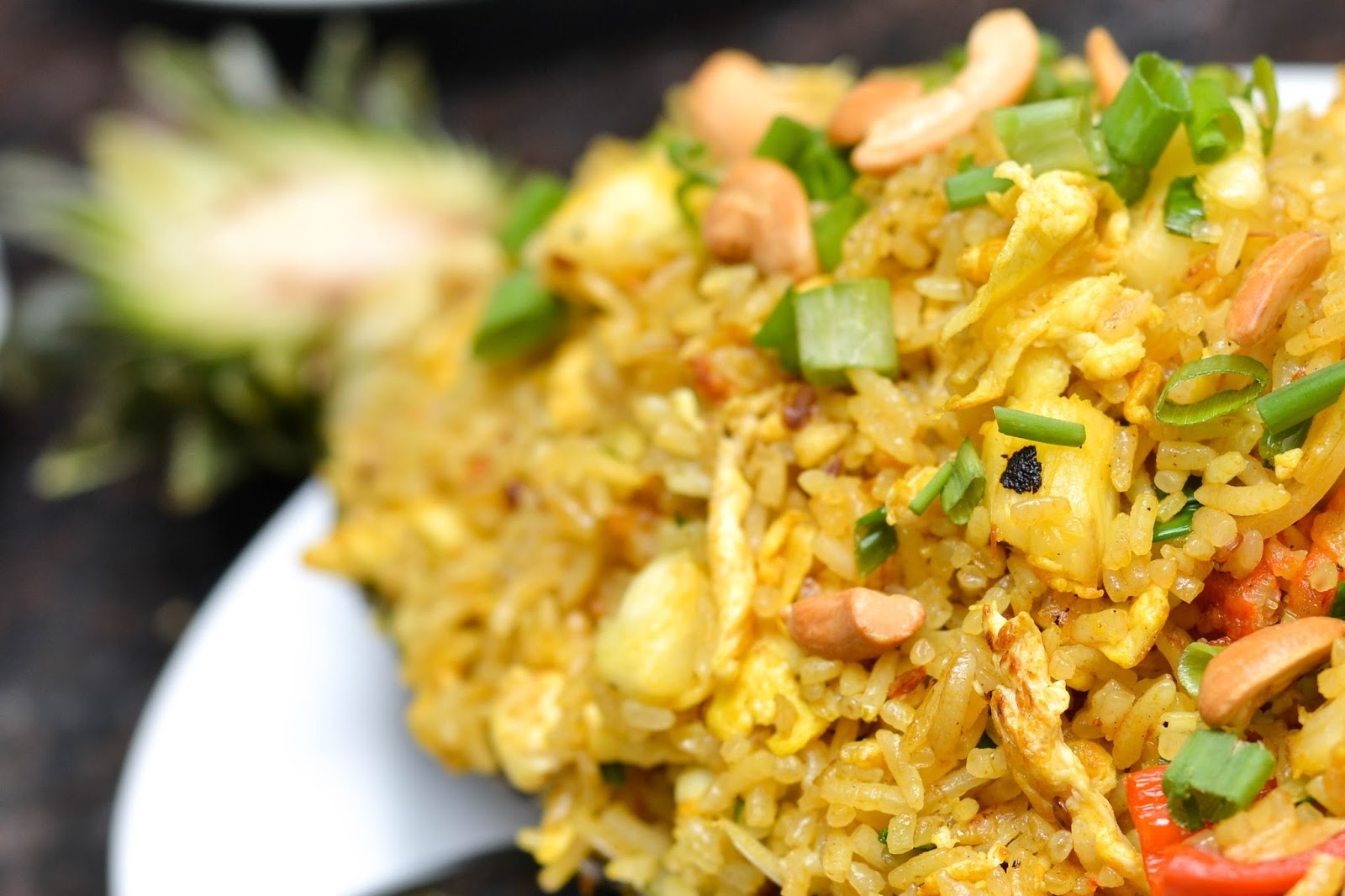 Thai Pineapple Fried Rice in Lagos