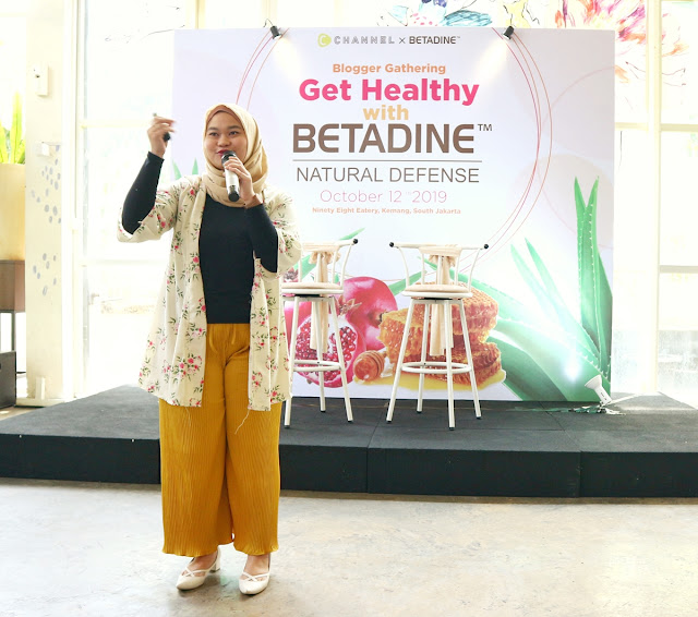 Blogger Gathering: Get Healthy with Betadine Natural Defense #CChannelXBetadine