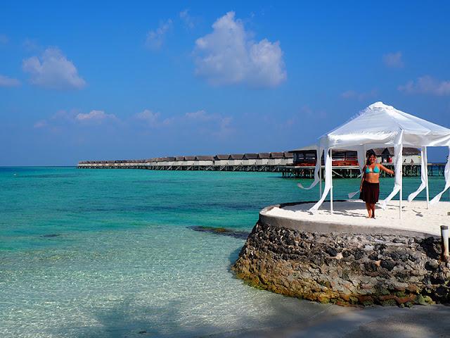 Centara Ras Fushi Resort And Spa Deluxe Water Villa