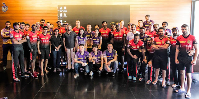 Gionee celebrates association with Kolkata Knight Riders, as the team continues to lead the tenth season of Indian Premiere League