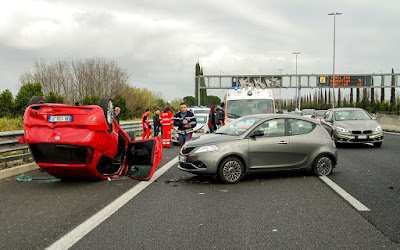 car-accident-motorway-rolled-roof