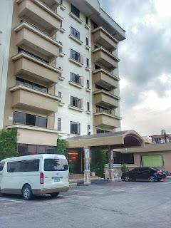 Facade of the Cebu Grand Hotel