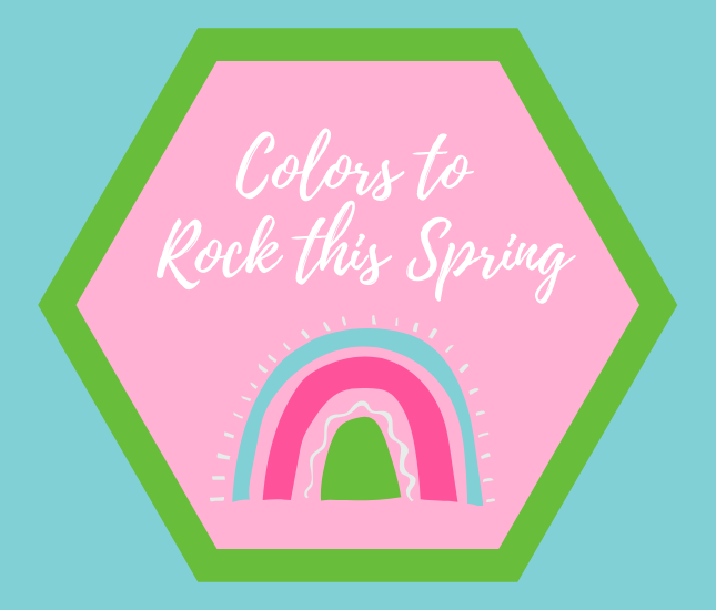 guide to colors to wear this spring