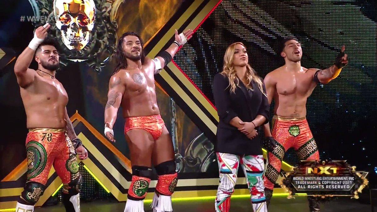 Legado Del Fantasma recebe nova integrante durante o WWE NXT