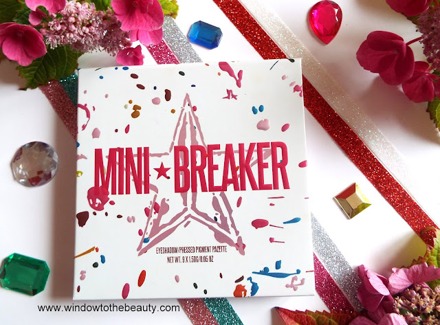 Jeffree Star Cosmetics Paleta Mini Breaker Recenzja I Swatche