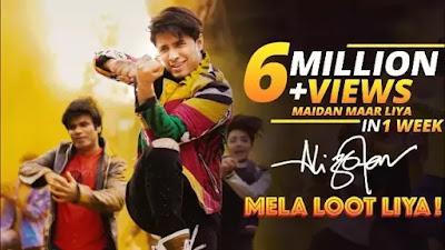 Mela Loot Liya HIndi Song Lyrics - Ali Zafar
