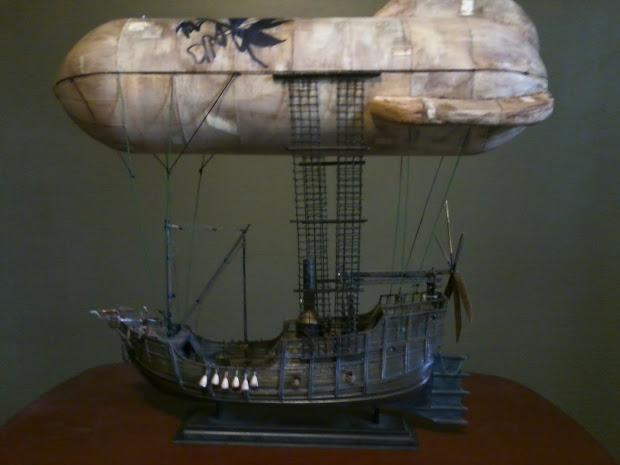 Fyfe Atelier Build Steampunk Airship