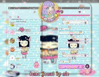 Anime Girls Theme For YOWhatsApp & Fouad WhatsApp By Alejandra