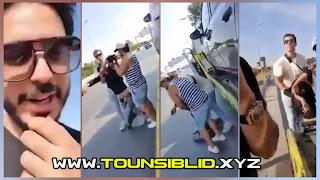 (بالفيديو) الاعتداء على سائق ريمركاج من طرف ابن رجل اعمال؟