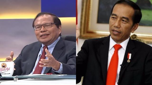 Rizal Ramli: Jokowi Sangat Bergantung ke Partai, Bukan Aspirasi Rakyat