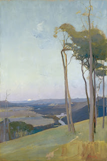 Sydney Long painting - The Valley