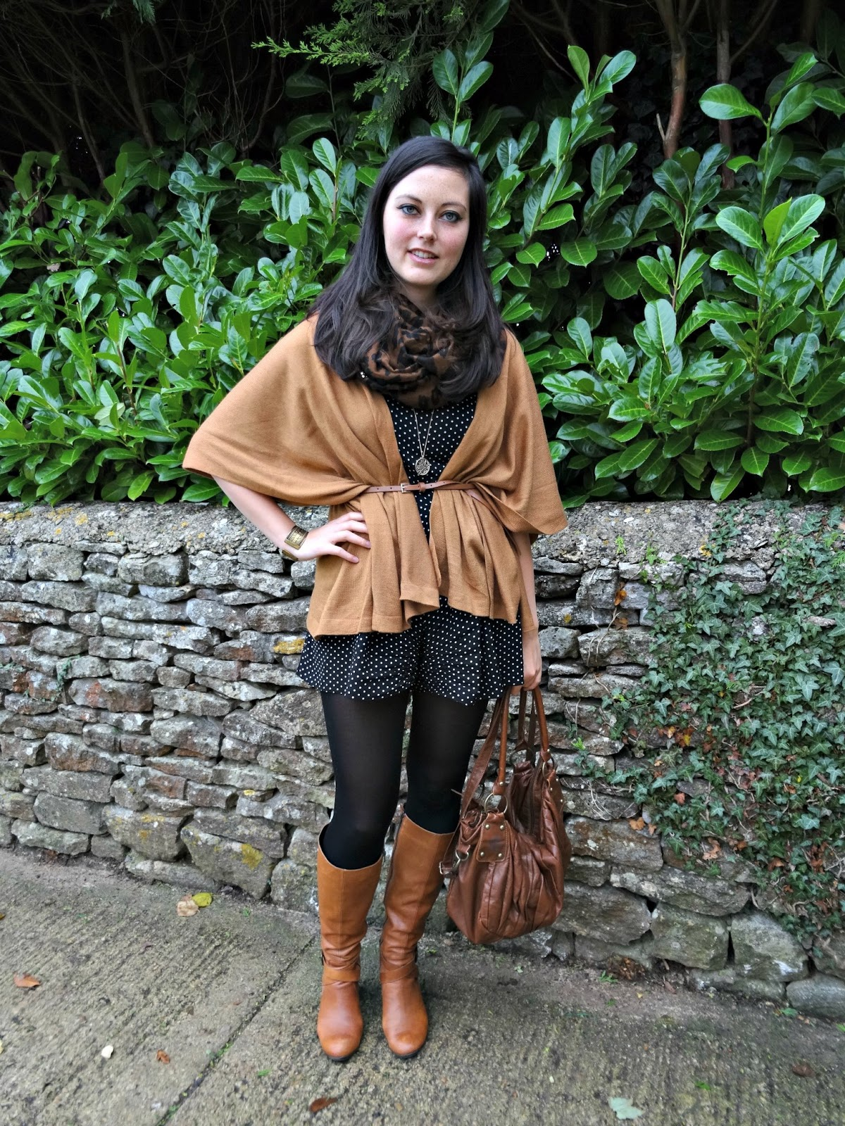 Shades of Brown autumn look