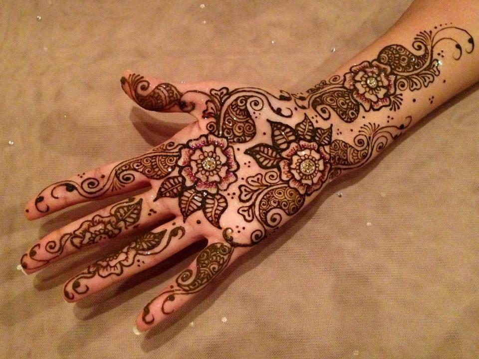 Arabic Henna Design Photos Free Download