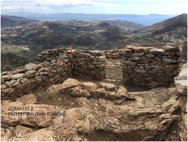Με γοργούς ρυθμούς προχωρά η ανασκαφή στον Κάστελο της Ορνές - Ανασκαφή