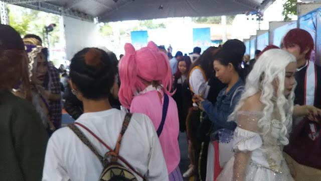 lễ hội cosplay manga festival Cũng văn hoá lao động 2092020