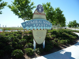 Admiral Mason Park in Downtown Pensacola