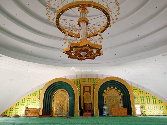 Masjid Agung Lubuk Pakam Deli Serdang - Travel Blogger Indonesia