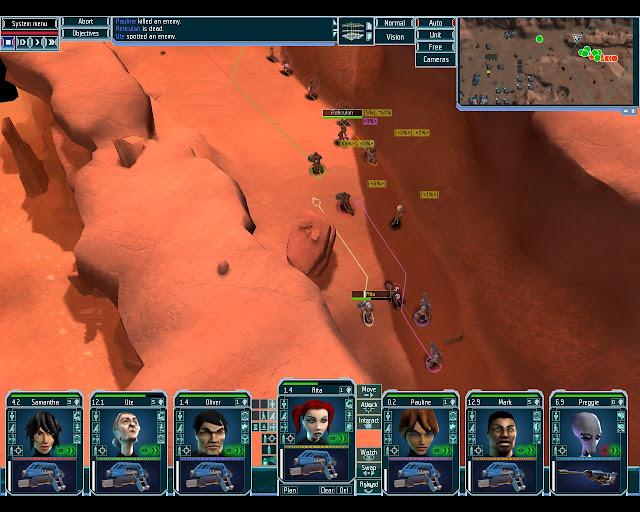 UFO Afterlight Hot Red Desert