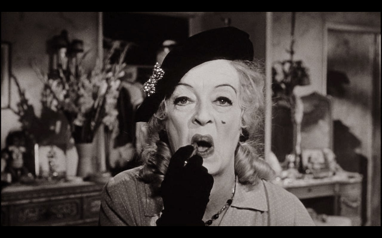 Bobby Rivers TV: Bette Davis as Baby Jane Hudson