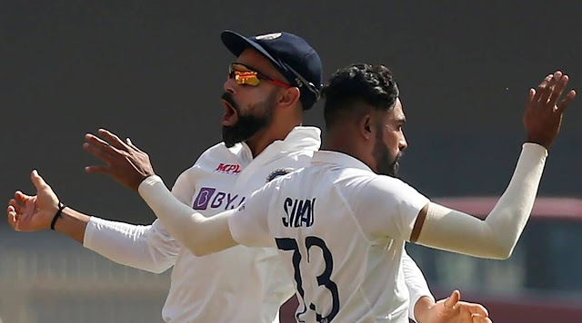 Siraj adds to reputation with another stellar display