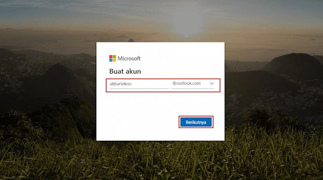 cara membuat email Outlook microsoft
