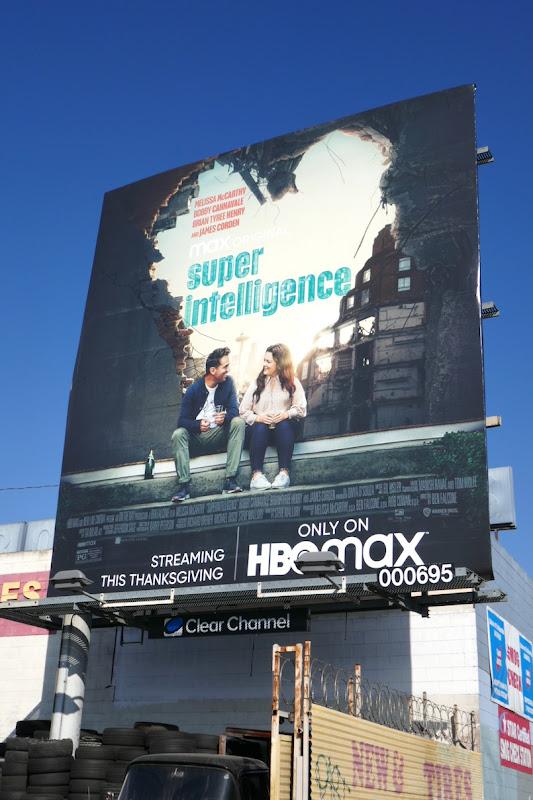 Superintelligence movie billboard
