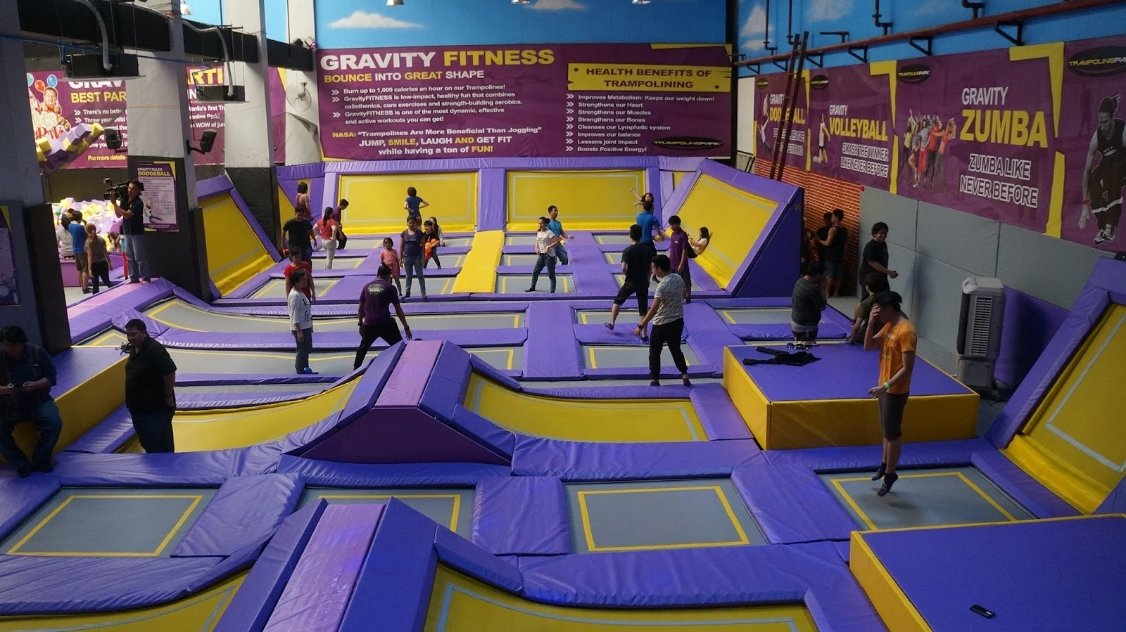 Trampoline Park Zero Gravity Zone: For That Sweaty Yet Fun ...