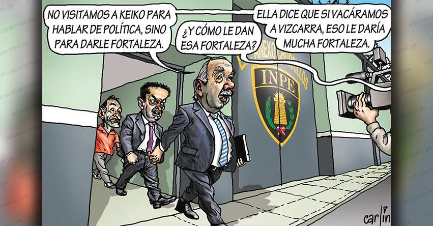 Carlincaturas Viernes 30 Agosto 2019 - La República