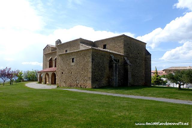 Iglesia de San Miguel Arcángel de Olcoz